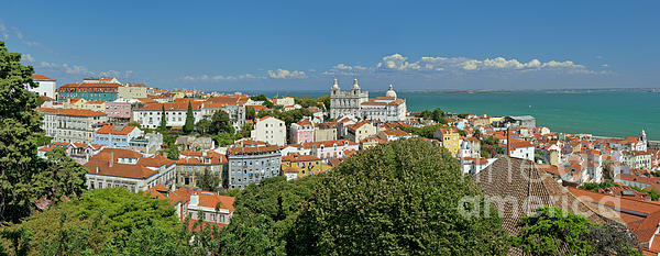 Lisbon Panorama by Mikehoward Photography